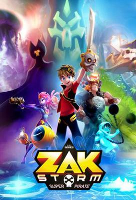 Zak Storm, Super Pirate (season 1)