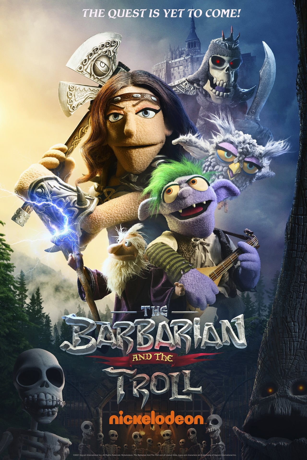 The Barbarian and the Troll (season 1)